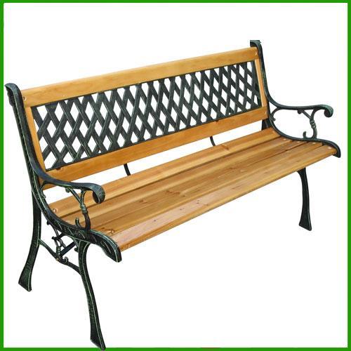Panche In Ghisa.Dettagli Su Panchina Da Giardino In Legno E Ghisa Arredamento Stile Antico Panca Sedia