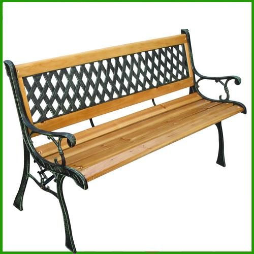 Panchine In Ghisa Da Giardino.Panchina Da Giardino In Legno E Ghisa Arredamento Stile Antico