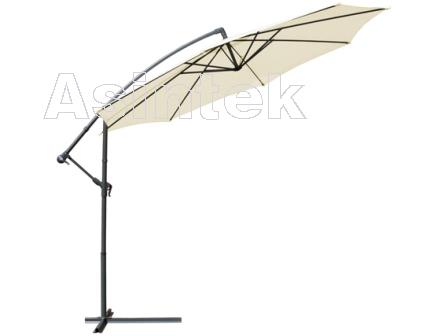 asintek ombrellone richiudibile e regolabile con piedistallo. Black Bedroom Furniture Sets. Home Design Ideas