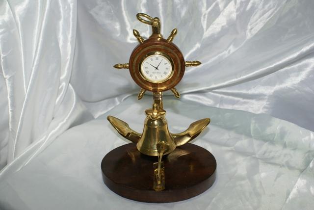 Asintek campanello da scrivania reception con orologio for Scrivania reception
