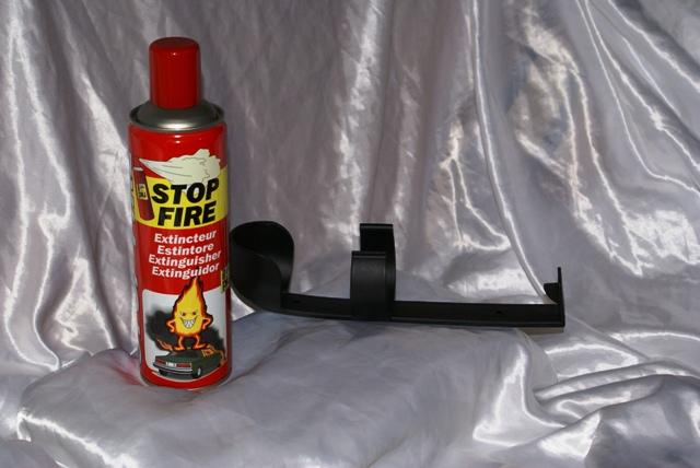 Estintore portatile spray riutilizzabile auto moto cucina ufficio antincendio ebay - Estintore per casa ...