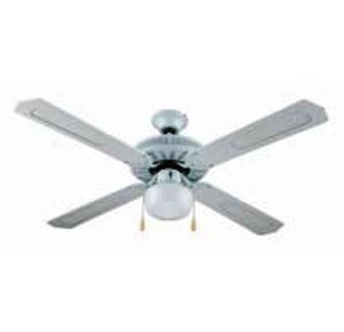 Ventilatore a pale in legno 130 cm con lampada for Ventilatore a pale