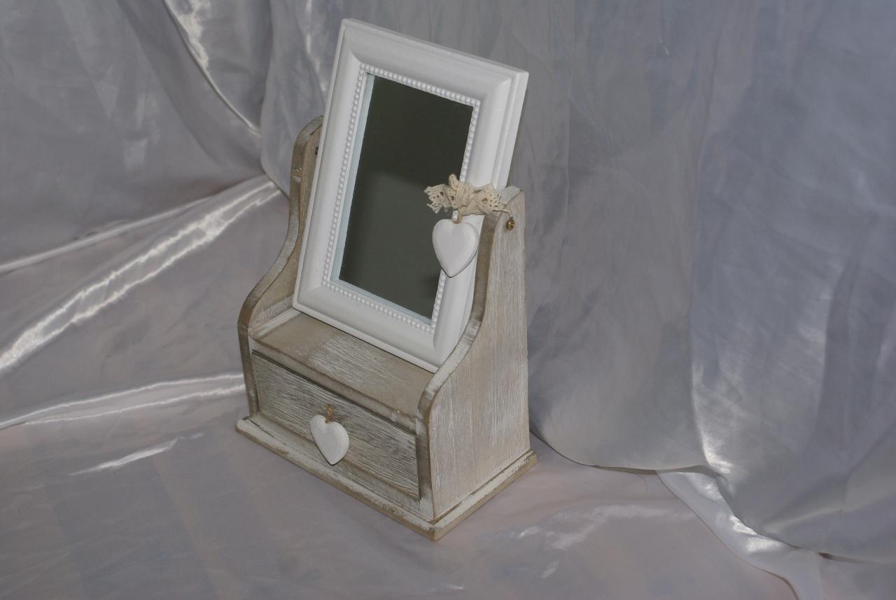 Asintek portagioie in legno con specchio - Specchio in spagnolo ...