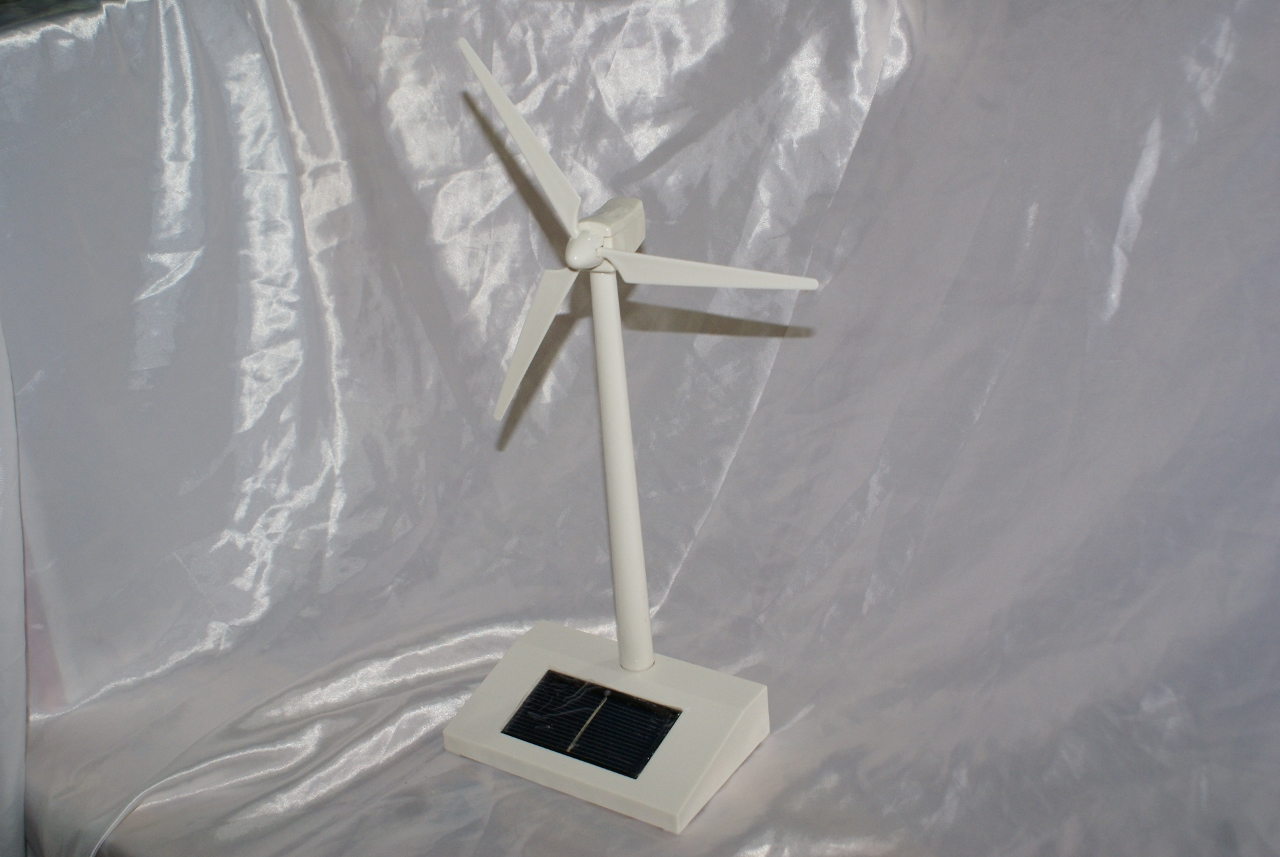 Pannello Solare Con Spina : Mini aerogeneratore eolico modellino pannello solare