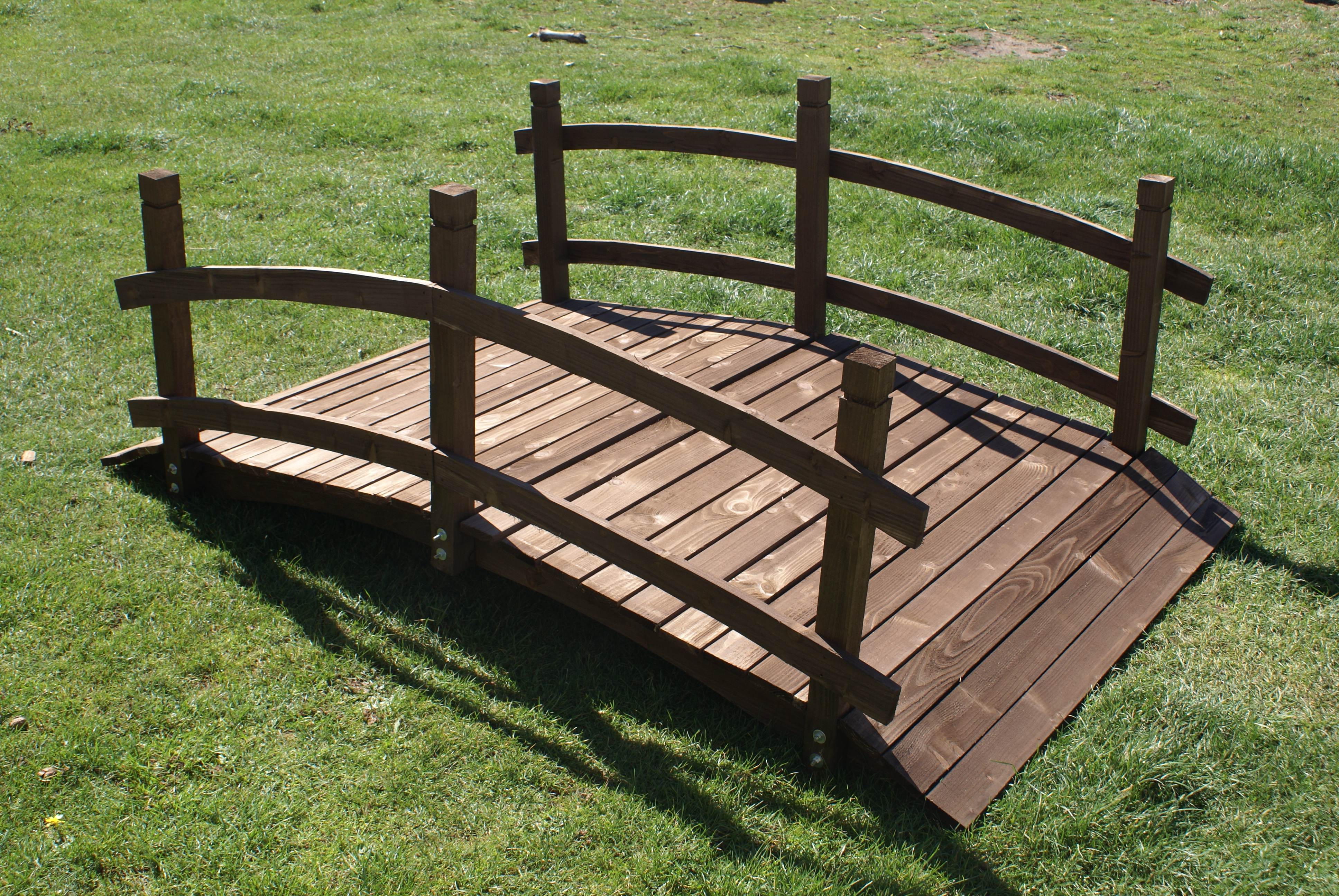 77 cm da giardino ponte di legno-lavorazione Decorazione Giardino